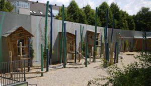 Spielplatz für den Kindergarten, Bewegungsräume für kreative Ideen rund um den Spielkplatzbau